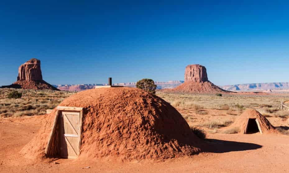 Navajo Hogan, Navajo Tribal Park, Monument Valley Arizona
