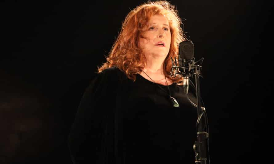 Mary Coughlan performs musical interludes in Home: Part One.
