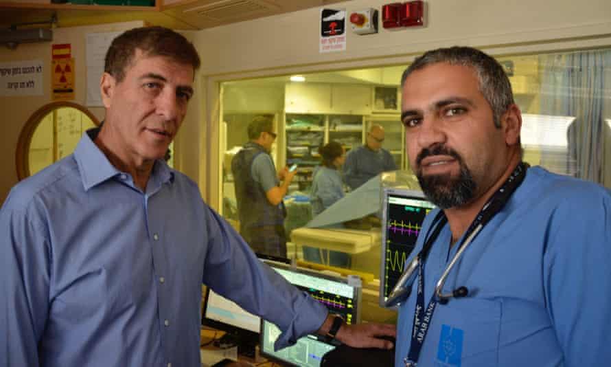 Chaim Lotan and Rashad Rizeq