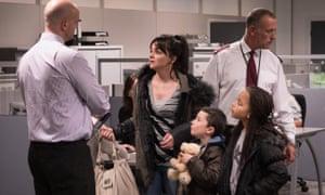 Benefits street … Ken Loach's new film I, Daniel Blake, portrays the reality behind austerity rhetoric
