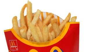 McDonald fries chips A76G18