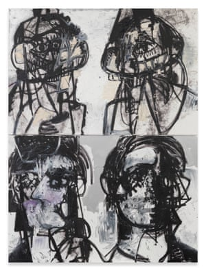 George Condo Self Portraits Facing Cancer 1 2015