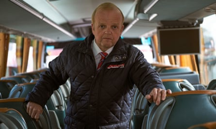 Toby Jones in Don't Forget the Driver.