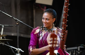 Sona Jobarteh is the first female master of the kora to come from a griot family.