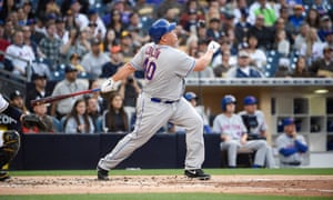 Bartolo Colon hit his first home run at the age of 42 in 2016