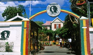 The Bob Marley Museum in Kingston.
