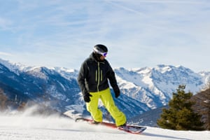 Ski slopes, Sauze d'Oulx, Turin province, Piedmont, Italy