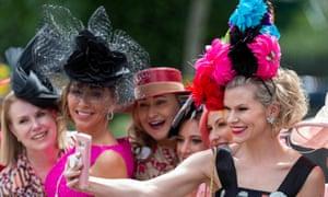 Ladies' day at Royal Ascot.