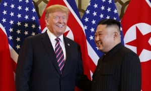 'President Trump likes Chairman Kim [Jong-un] and he doesn't think these sanctions will be necessary,' said the White House spokeswoman, Sarah Sanders.