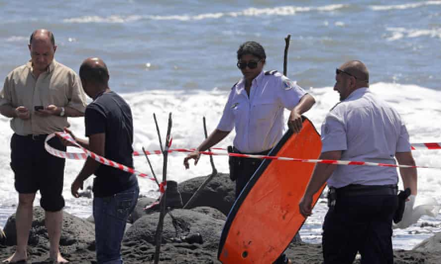 The scene in Réunion where a bodyboarder was killed by a shark this week.