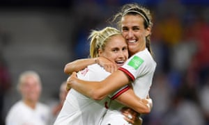 Steph Houghton (left) and Jill Scott are among the England players to have graduated from Sunderland Ladies yet no north-east venue was selected.
