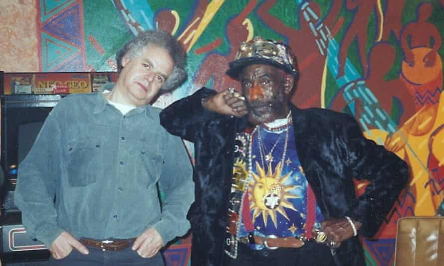 Jeremy Marre, left, with the reggae artist Lee 'Scratch' Perry around 2001. With his films, Marre did not just chronicle popular music history, but helped to make it