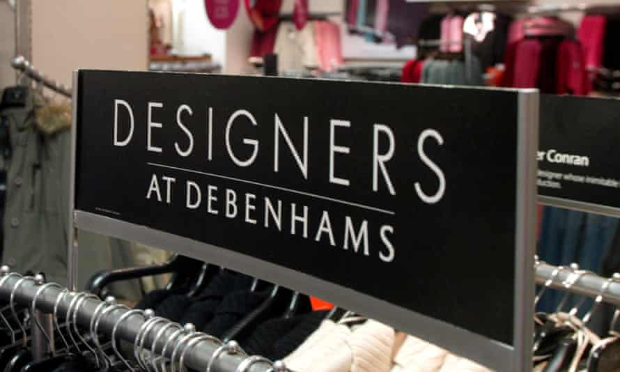 """The popular """"Designers at Debenhams"""" brand emerged in the noughties, in which fashion names introduced items at high street prices."""