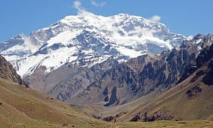 Aconcagua National Park, Andes Mountains, Argentina, South America