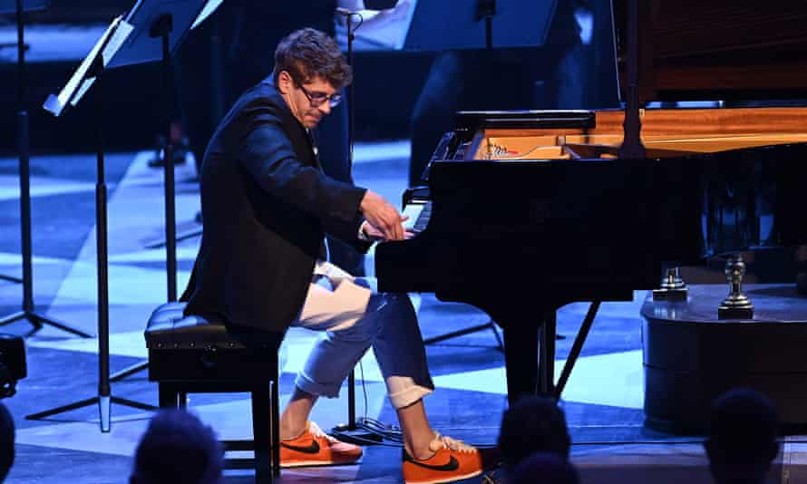 Kolesnikov at the Proms on 11 August playing Rachmaninov with the Aurora Orchestra