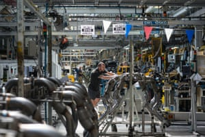 Vauxhall factory in Ellesmere Port, UK