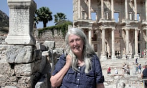 Mary Beard has faced 'unnecessary insult, misogyny and language of war' for defending the BBC cartoon.
