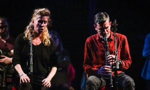 Nichola Scrutton and Alex South at Tectonics festival at Old Fruitmarket in Glasgow.
