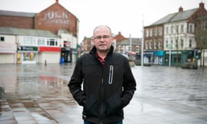 Conservative MP Ian Levy pictured in his constituency of Blyth.