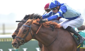 Skardu wins Craven Stakes from Momkin.