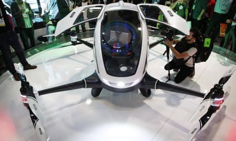 World's first passenger drone cleared for testing in Nevada