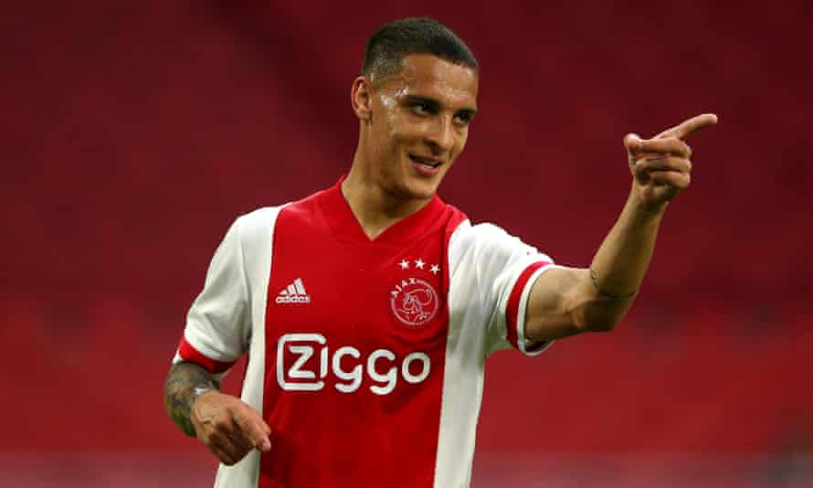 Antony has already scored five goals for Ajax this season, including one in the Champions League.