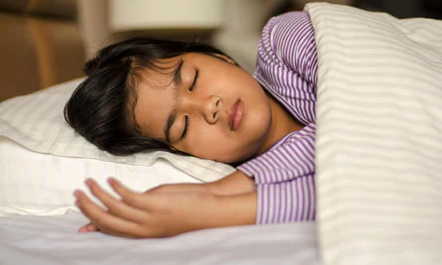 Overtiredness is easy to spot in young people.
