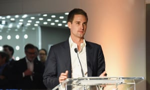 What Snap investors are really buying is Evan Spiegel.
