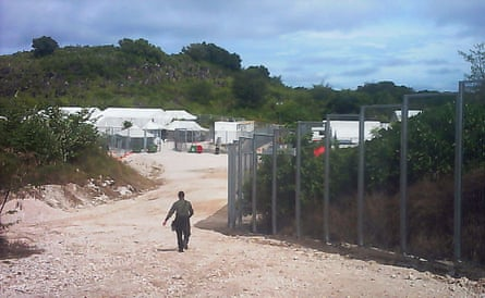 The Nauru detention centre from which 28 refugees have written to the NZ government seeking resettlement.