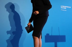 Theresa May launches the Conservative party's manifesto in Halifax on Thursday