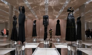 Haute couture clothing designed by the late fashion designer Azzedine Alaïa.