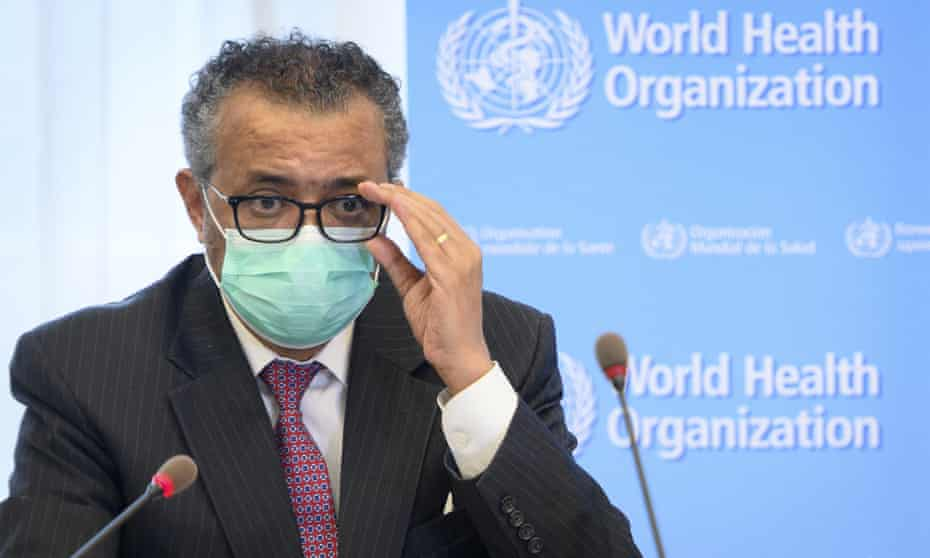 Tedros Adhanom Ghebreyesus, director general of the World Health Organization (WHO), said: 'We are making conscious choices right now not to protect those in need.'