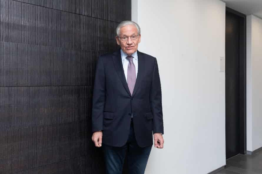 Bob Woodward: 'corrects Trump's assertions when he can get a word in'