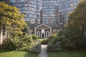 Hopton's almshouses, Bankside, London