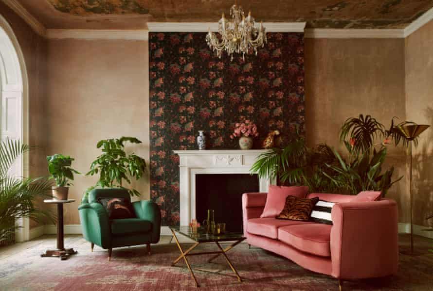 The living area of pop star Paloma Faith