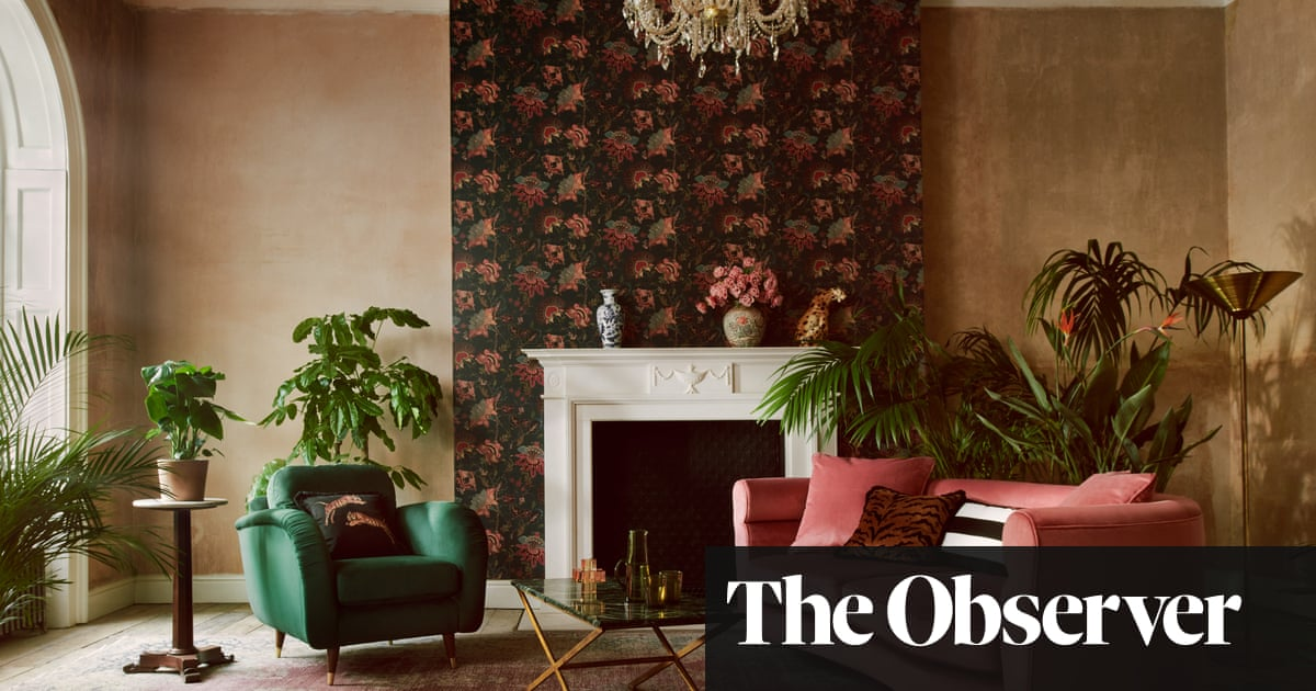 Ditch the magnolia… busy and bold and decor takes it to the max