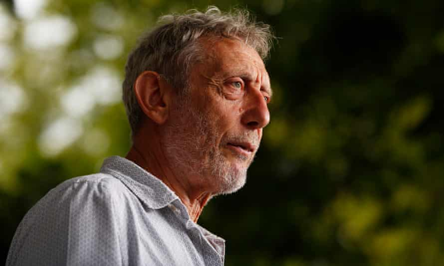 Stable and alert ... Michael Rosen, pictured in 2017.