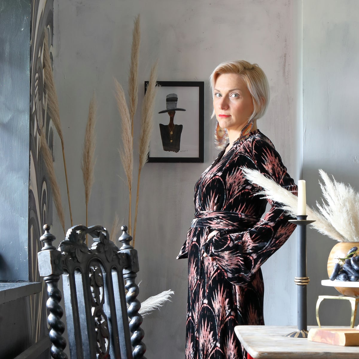 Her Dark Materials A Fabric Designer S East Sussex Home Interiors The Guardian