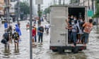 Refugees hit hardest as deadly floods sweep across continents