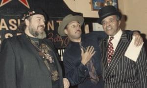 Dr John, Wynton Marsalis and Jon Hendricks in 1991.