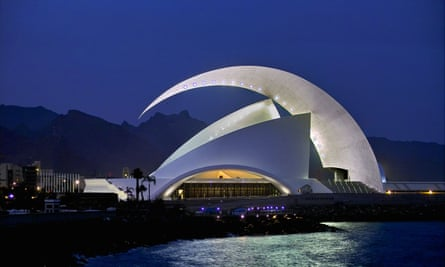 Auditorio, Santa Cruz, Tenerife from enrique@humewhitehead.co.uk