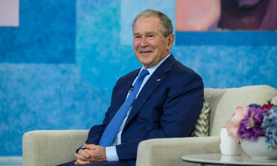 George W Bush: 'If the Republican party stands for exclusivity, you know, used to be country clubs, now evidently it's white Anglo-Saxon Protestantism, then it's not going to win anything.'