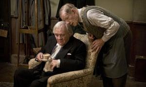 Antony Hopkins in The Dresser with Ian McKellen