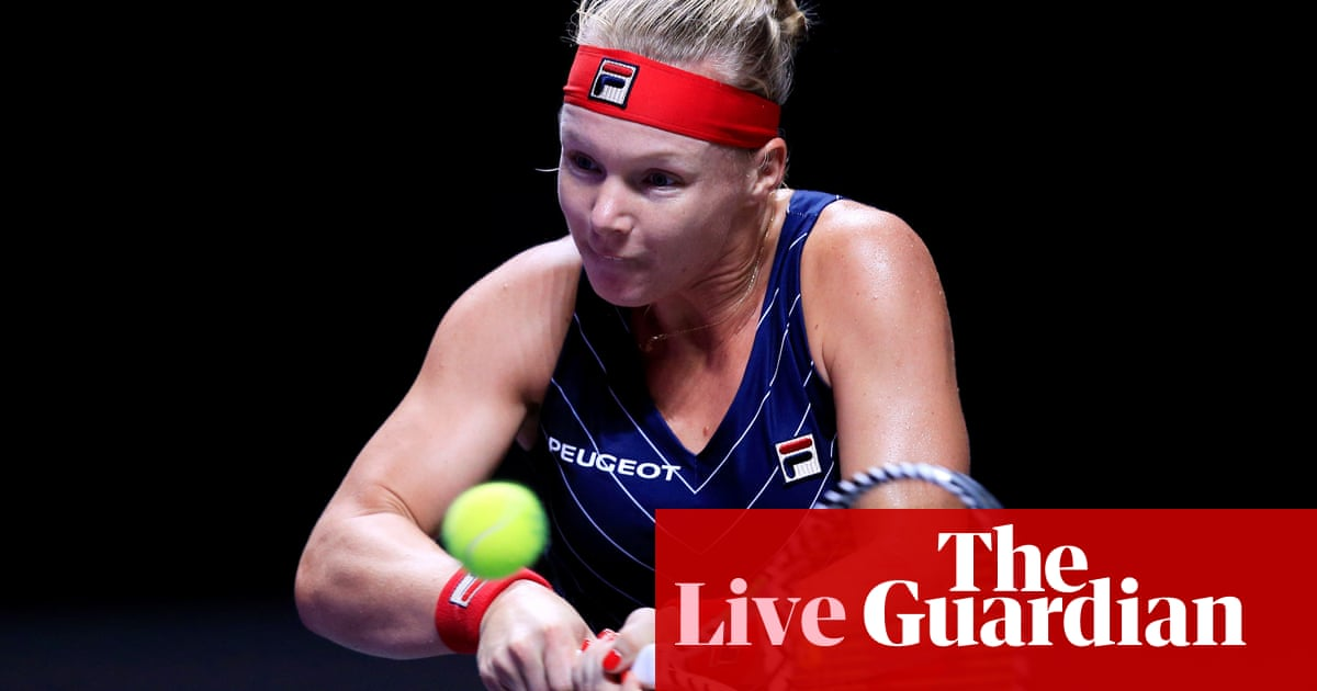 Ashleigh Barty v Kiki Bertens: WTA Finals – live!