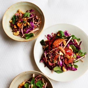 Citrus and cashew nut slaw Observer Food Monthly OFM January 2021