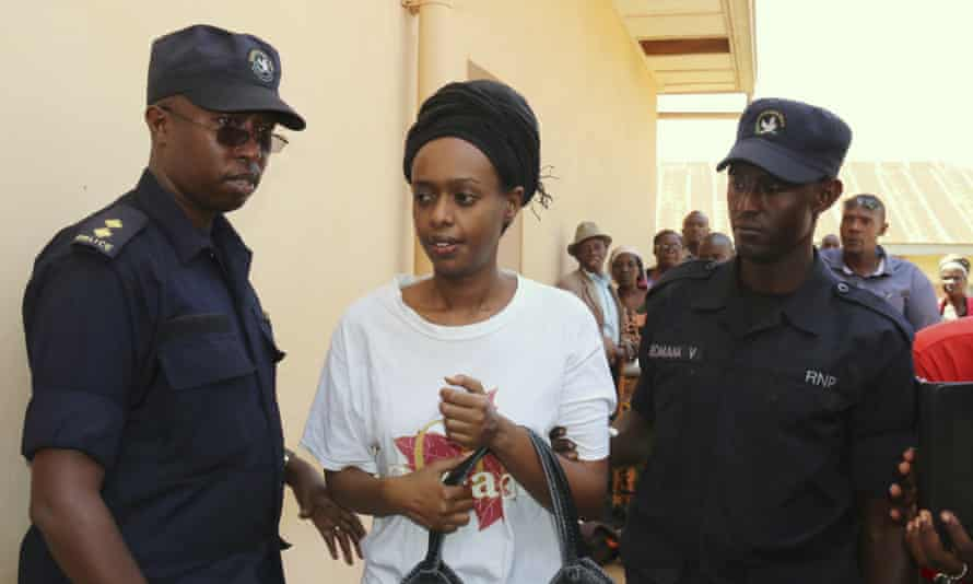 Diane Rwigara, who has been freed from jail on bail, criticised the Rwandan president.