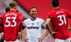 Manchester United 1 1 West Ham United Premier League As It Happened Football The Guardian