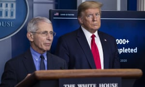 The relationship between Fauci and Trump has been strained over the course of the pandemic.