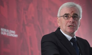 Shadow chancellor John McDonnell said Labour would reverse cuts made by the government since 2010.