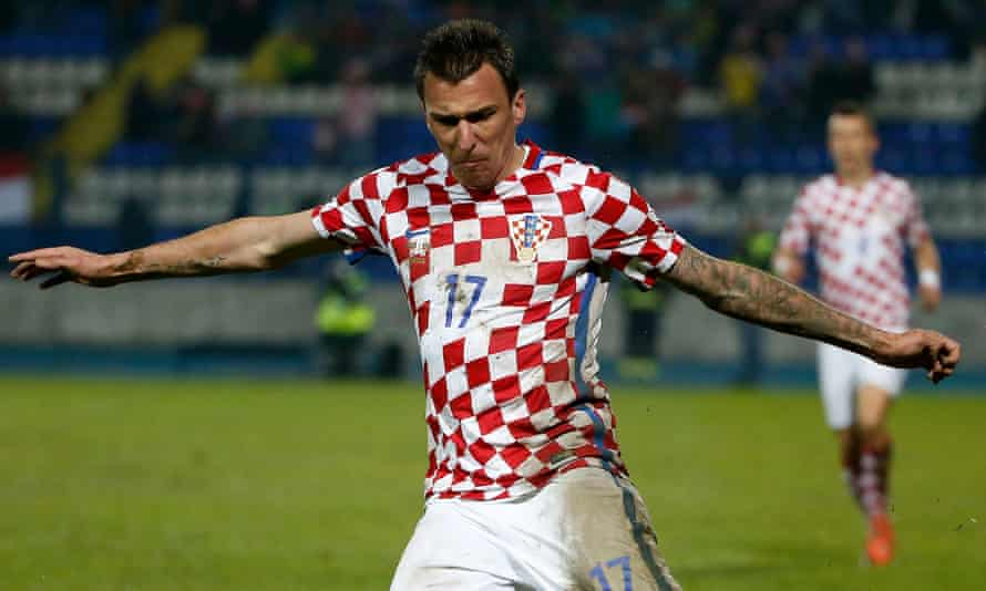 Things did not go according to plan with one of Mario Mandzukic's tattoos.